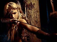 Selena Lua aka The Archer