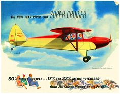 Piper Cub Super Cruiser, 1947 | Flickr - Photo Sharing❤️