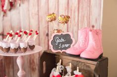 Decor from a Girly Little Farm Birthday Party via Kara's Party Ideas | KarasPartyIdeas.com (34)