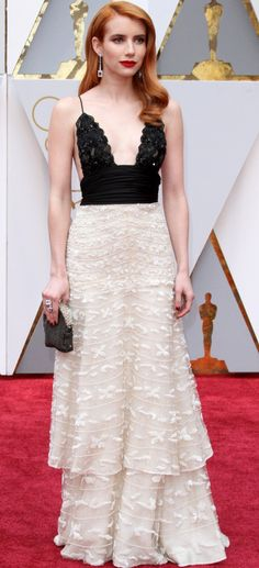 Emma Roberts at the 89th Annual Academy Awards held at the Dolby Theatre at the Hollywood and Highland Center in Los Angeles, California, on February 26, 2017.