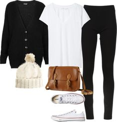 Perfect for lazy fall days Lazy Day Outfits, College Outfits, Simple Outfits, Winter Outfits, Casual Outfits, Cute Outfits, Fashion Outfits, Middle School Fashion, Diva Fashion