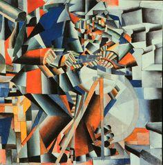 The Knife Grinder, Kasemir Malevich, 1912.