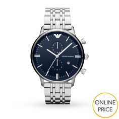 Emporio Armani AR1648 Stainless Steel Gents Watch