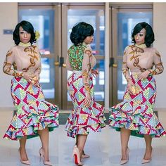 0000 It's time for a new Ankara styles series! We are delighted to bring you the trendy and amazing Ankara Styles to style-steal. Ankara styles are just fabulous outfits with awesome… African Print Dresses, African Print Fashion, Africa Fashion, African Wear, African Attire, African Fashion Dresses, African Women, African Dress, African Prints