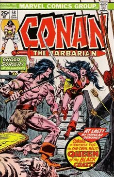 Conan the Barbarian #58 - Queen of the Black Coast! (Issue)