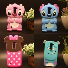 3D Stitch Minnie Blue Monster Cartoon Silicone Cover Case For LG K7 K10 Q7 Q10   Celulares y accesorios, Accesorios para teléfonos celulares, Estuches, fundas y cubiertas   eBay!