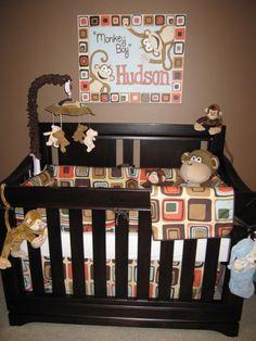 My kids baby room will be monkeys no matter girl or boy!!!