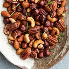 Candied Mixed Nuts with Rosemary | Williams-Sonoma