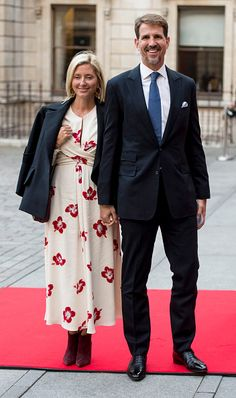 Prince Pavlos and Princess Marie-Chantal