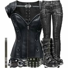 Love the zip on the corset