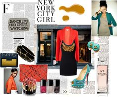 """NY Bollywood"" by sandrsdutchess on Polyvore"