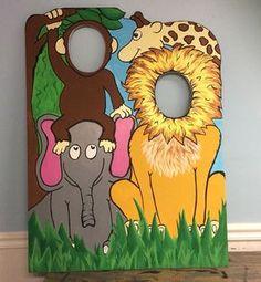 Jungle Birthday Party Prop . Jungle Cutout . by LittleGoobers