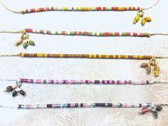 """Colliers en chaîne """"serpentine"""" argent 925 ou doré à l'or fin 14 carats #miyuki #serpentine #octopop #bijoux #collier #handmade #corsica"""