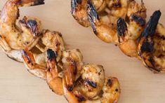 Recipes   Seafood Easy Grilled Shrimp Recipes, Marinated Shrimp, Shrimp Skewers, Seafood Recipes, Kabobs, Grilling Recipes, Cooking Recipes, Grilling Ideas, Tumblr Food