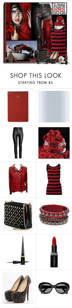 """""""Be better than them.... Head High👑"""" by pebbles78 ❤ liked on Polyvore featuring Postalco, Brewster Home Fashions, philosophy, H&M, Balmain, Dolce&Gabbana, Christian Louboutin, Smashbox and Acne Studios"""
