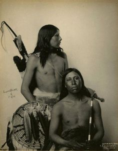 Lone Bear and Frog. 1900.