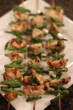 Chicken and Asparagus Kabobs - Every Day Cheer