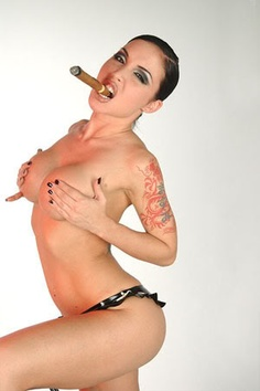 smoke cigar