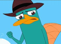 Perry the Platypus, reassuring Dr. Doofenshmirtz that he has everything under control and Doof can trust him. Perry may be his nemesis, but at the end o. Perry the Platypus - Trust Me (animated) Watch Phineas And Ferb, Phineas And Ferb Perry, Phineas And Ferb Memes, Phineas Und Ferb, Best Cartoons Ever, Cool Cartoons, Disney Animated Movies, Disney Movies, Milo Murphy