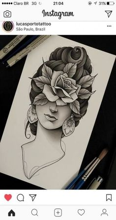 Best drawing tattoo neo trad Ideas - Carry ON Neo Tattoo, Medusa Tattoo, Tattoo Sleeve Designs, Sleeve Tattoos, Tattoo Sketches, Tattoo Drawings, Dibujos Tattoo, Oldschool, Neo Traditional Tattoo