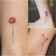 tatuagens delicadas para homenagear os filhos
