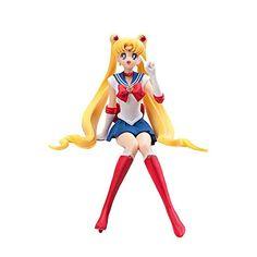 Anime Domain Porte-cl/és de Sailor Moon avec 5 Figurines Chibi
