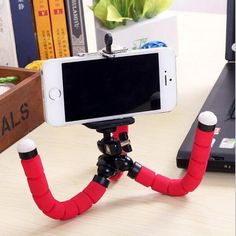 In Quality Wrumava Flexible Octopus Leg Phone Holder For Iphone X 8 7 Plus Flexible Tripod Bracket Selfie Stand Mount For Huawei Smartphone Excellent