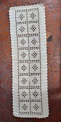 Handmade Placemats Set of Crocheted Placemats Crochet Table Mat, Crochet Table Runner Pattern, Free Crochet Doily Patterns, Crochet Placemats, Filet Crochet Charts, Diy Crochet, Crochet Designs, Crochet Stitches, Crochet Doilies