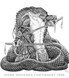 King Cobra took me forever to do with all the details and shading with the scales. Often I have pencil drawings that can take more time to finish then a. Cobra Art, Alien Concept, Unusual Art, Pretty Art, Fantasy Creatures, Body Art Tattoos, Hand Tattoos, Dark Art, Art Sketches