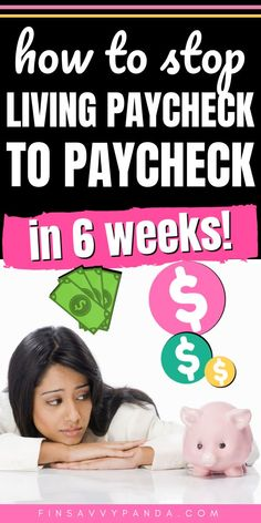 9 Reasons Why You Are Living Paycheck To Paycheck (And How To Fix It Want to become debt free so that you can save money and reach financial freedom? YES, you CAN stop living paycheck to paycheck NOW! For a wh Ways To Save Money, Money Tips, Money Saving Tips, Saving Ideas, Money Budget, Managing Money, Cheque, Budgeting Finances, Budgeting Tips
