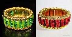 How tomake anelegant bracelet with safety pins