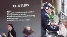 AGF's field recording workshop at Loop 2015