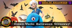31 Days of Halloween: A Spooky DreamWorks Giveaway featuring MONSTERS VS. ALIENS and KUNG-FU PANDA!