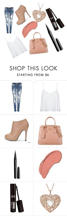 """""""A more like girly look"""" by lialil on Polyvore featuring Alice + Olivia, Prada, Marc Jacobs and NYX"""