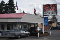 Top Burger, Camas, WA. Great home town burger place with the best fries ever!