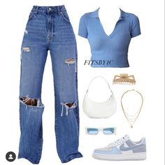 Casual Sporty Outfits, Swaggy Outfits, Cute Swag Outfits, Simple Outfits, Stylish Outfits, Teen Fashion Outfits, Cute Fashion, Estilo Hippy, Ulzzang Fashion
