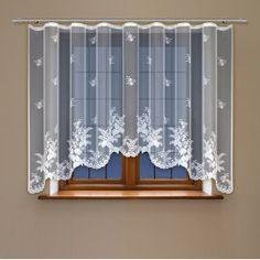 Záclony – vyberte si z 120 krásnych záclonových závesov Modern Window Design, Modern Windows, Valance Curtains, Kitchen, Home Decor, Brown Curtains, Cooking, Decoration Home, Room Decor