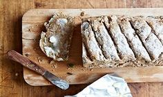 Over the past weeks, we've been developing your skills in the kitchen. Now it's time to start tapping in to your creativity by experimenting with a triptych of artisanal loaves: spelt loaf. Spelt Recipes, Bread Recipes, Low Carb Recipes, Baking Recipes, Savoury Recipes, Healthy Recipes, Healthy Meals, Delicious Recipes, Spelt Bread