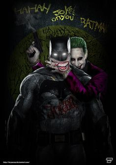 Ha Ha Ha Joke's on You, Batman. by Bryanzap