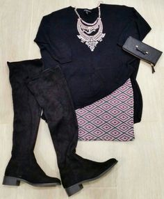 Outfit con legging boots