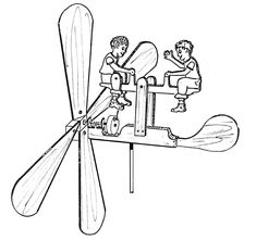 See Saw Twins Whirligig 608 Woodworking Craft Pattern Woodworking Projects For Kids, Woodworking Patterns, Woodworking Workshop, Popular Woodworking, Diy Wood Projects, Woodworking Crafts, Wood Crafts, Wood Craft Patterns, Wood Toys Plans