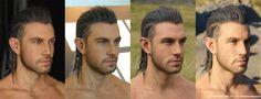 アートディレクションの段階から生身の役者を3Dスキャンしたデータを基に キャラクターデザインが詰...