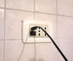 USB power adapter from socket
