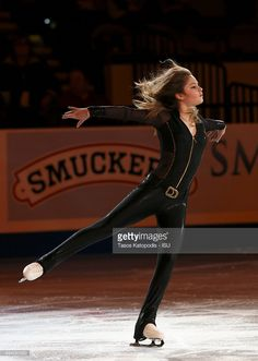 Julia Lipnitskaia of Russia in the Smucker's Skating Spectacular on October 25, 2015 in Milwaukee, Wisconsin.