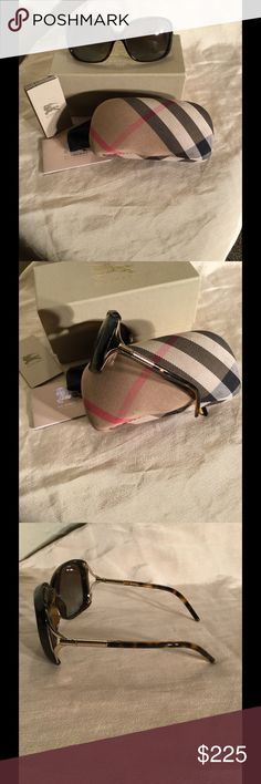 Burberry Brand new Beautiful Brown Tortoise 🌟Perfect Holiday Gift🌟Brand new Beautiful Brown tortoise Burberry Sunglasses, still in box with origional packaging. Burberry Accessories Sunglasses