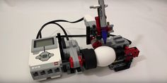 How to build a Lego machine that'll decorate your Easter eggs