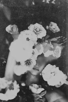 floral | flowers | float | black & white | art | photography | love | fashion | hide away