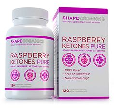 Shape Organics Raspberry Ketones Pure for Fat Reduction and Weight Management No Additives No Added Caffeine *** Visit the image link more details. (It is an affiliate link and I receive commission through sales) Weight Loss Meal Plan, Diet Plans To Lose Weight, Natural Appetite Suppressant, Diet Pills That Work, Most Effective Diet, Herbal Weight Loss, Raspberry Ketones, Diet Plans For Women, New Shape