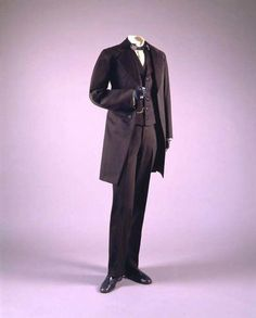 Men's suit, 1866
