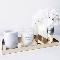 """A sneak peek of the samples we have on offer at our pop up SALE this Fri-Sun! Lots of brass pieces and marble candles at up to 40% off! If you're in Perth…"""